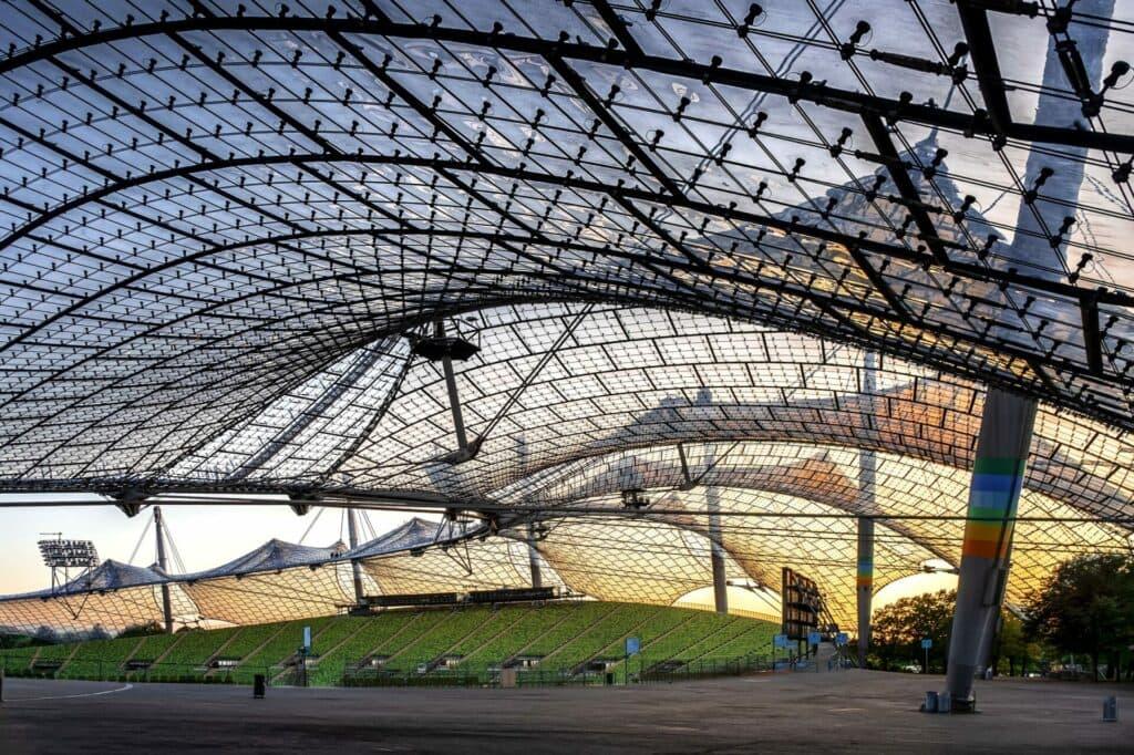 Das Münchner Olympiastadion - Wirkungsstätte der Volunteers bei den European Championships Munich 2022!