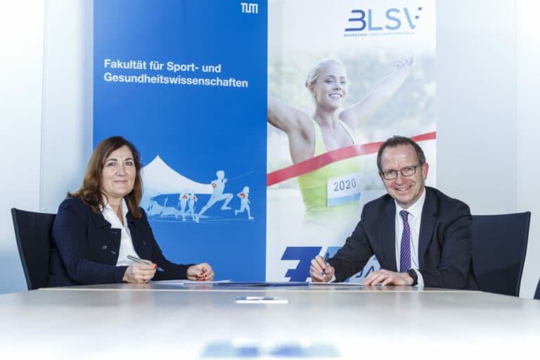 TU München und BLSV starten Zusammenarbeit