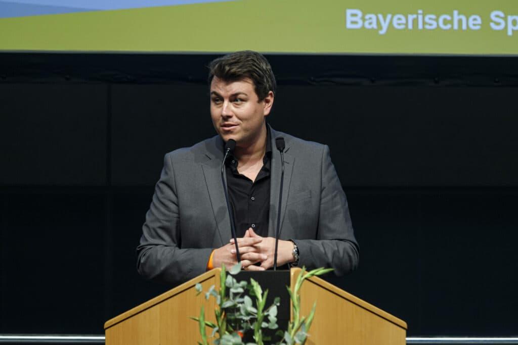 Michael Weiß, Vorsitzender der BSJ (Bayerische Sportjugend), stellt ab sofort die Weichen für die Zukunft