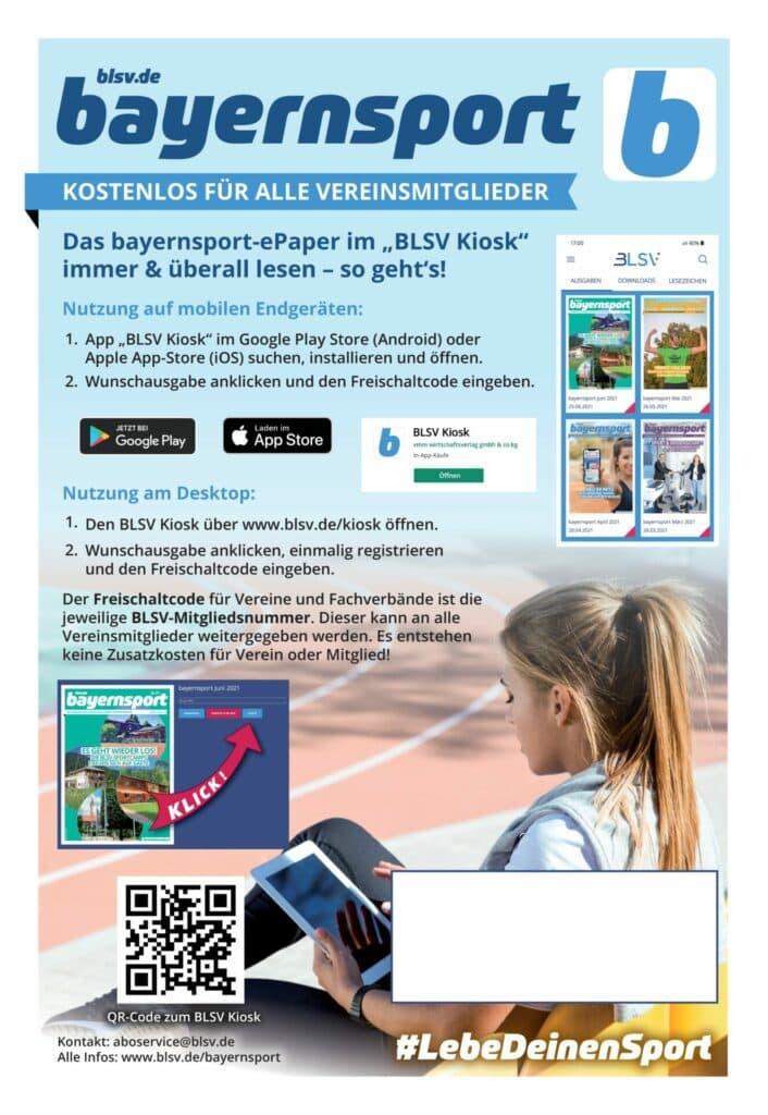 bayernsport_Plakat - 12.000 Plakate für Bayern